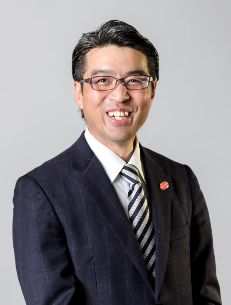 アサヒ印刷代表取締役の茨木耕司の写真です